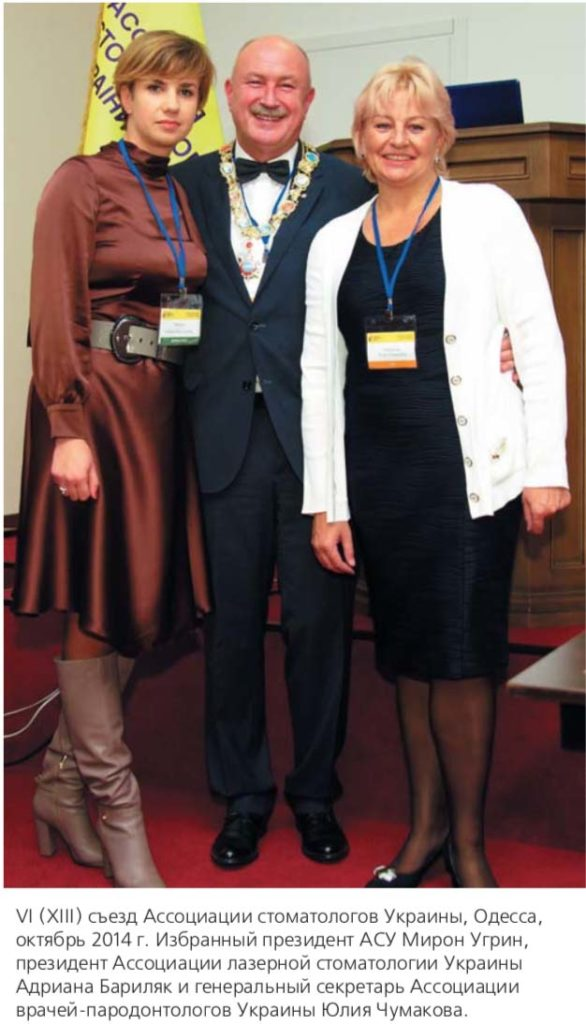 VI (XIII) съезд Ассоциации стоматологов Украины, Одесса, октябрь 2014 г